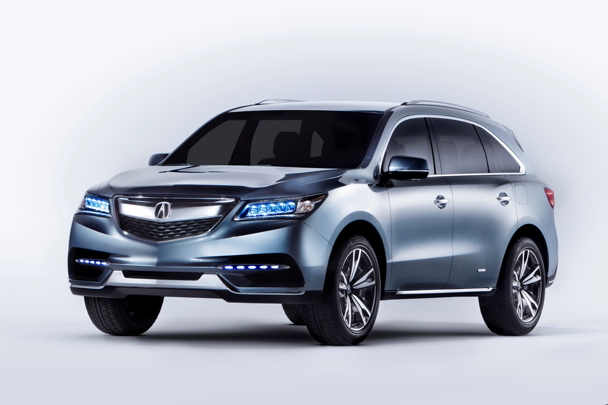 Acura Unveils 2014 Acura MDX Prototype and 2014 Acura RLX at Montreal International Auto Show