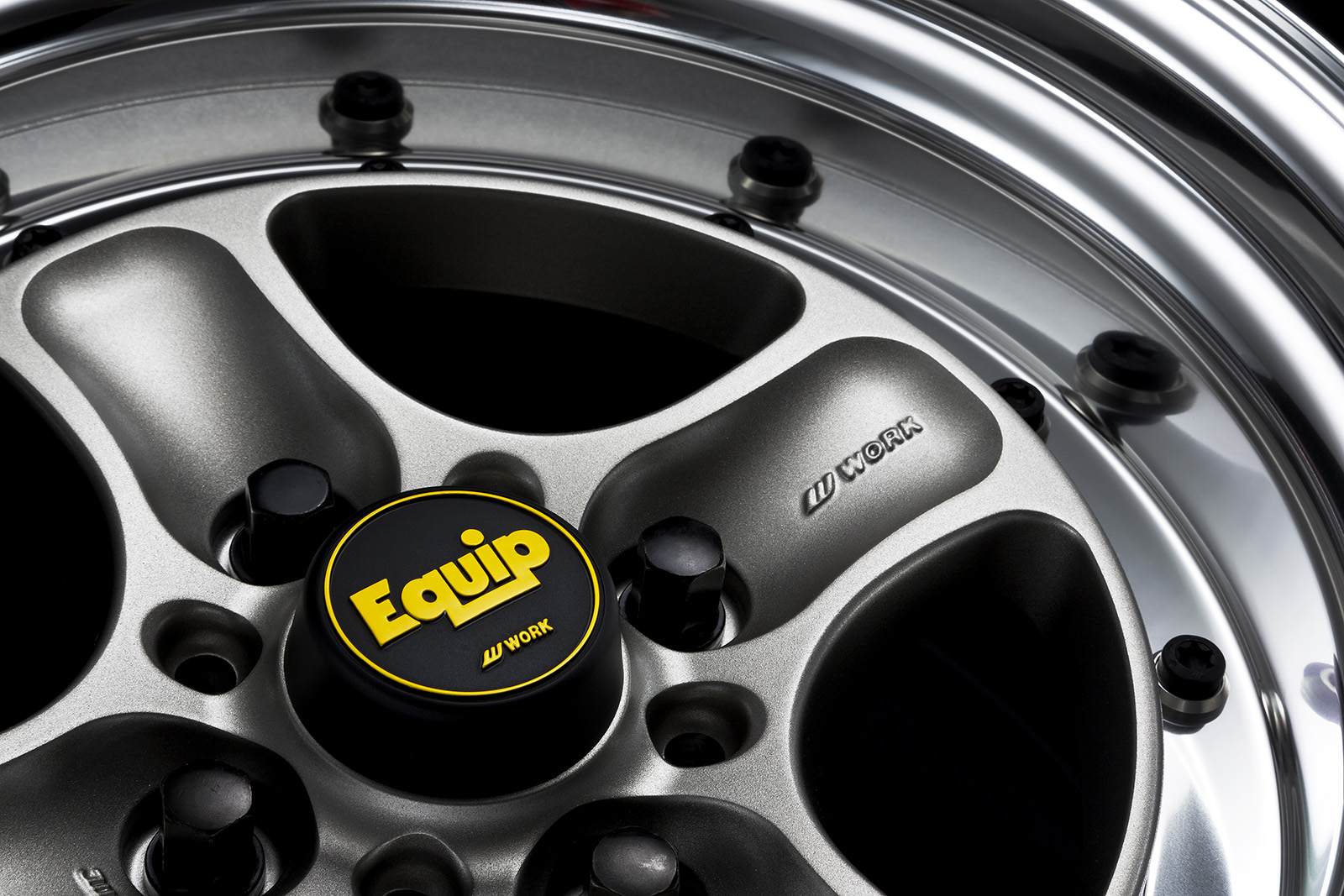 PASMAG WORK Equip 40 limited edition center cap 1
