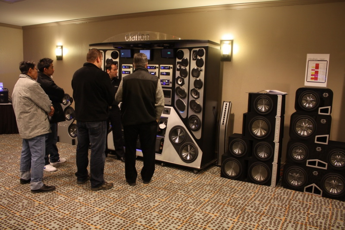 Clarion Canada 2011 Product Launch Tour