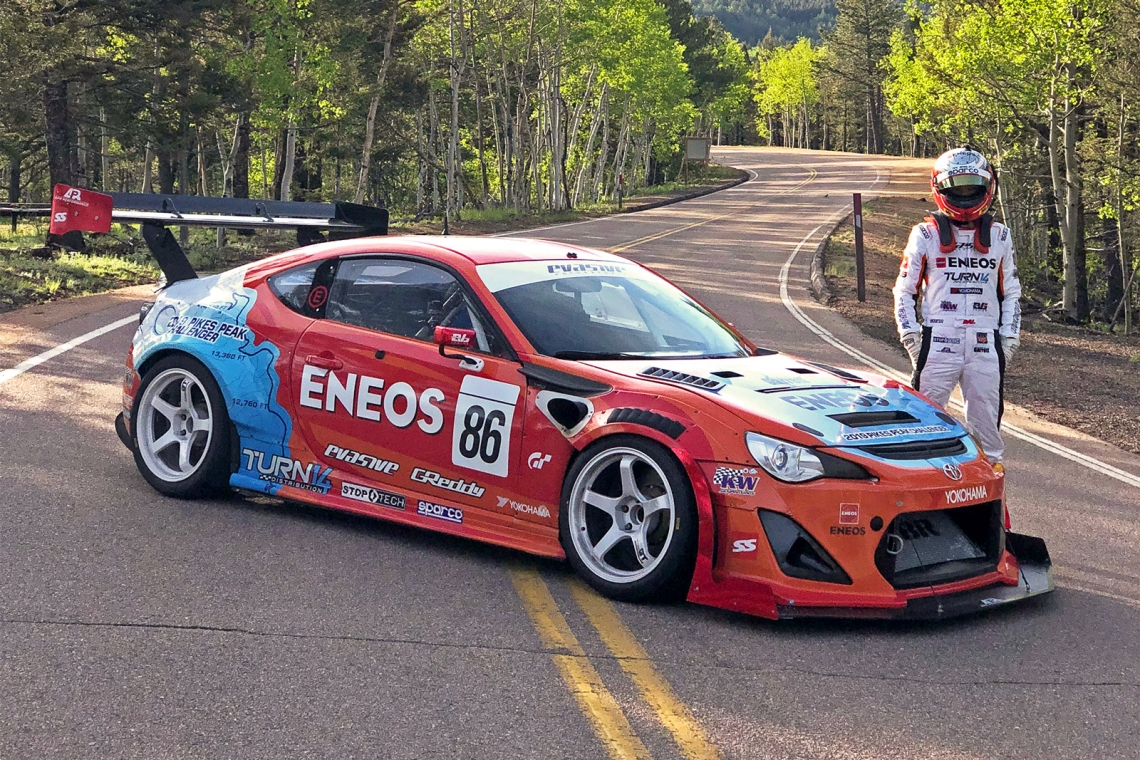 Dai Yoshihara Begins Final Countdown To Pikes Peak With ENEOS