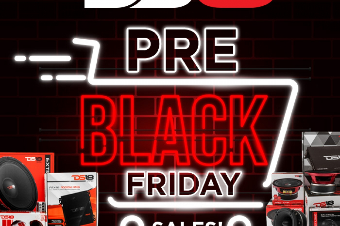 DS18 Black Friday Sales