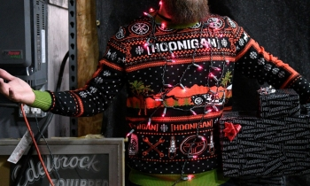 Hoonigan UNCLE RICO Ugly Knit Sweater
