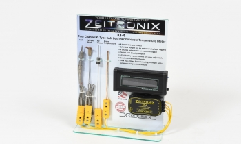 Zeitronix KT-4, Four Channel K-Type Temperature Meter with CAN Bus