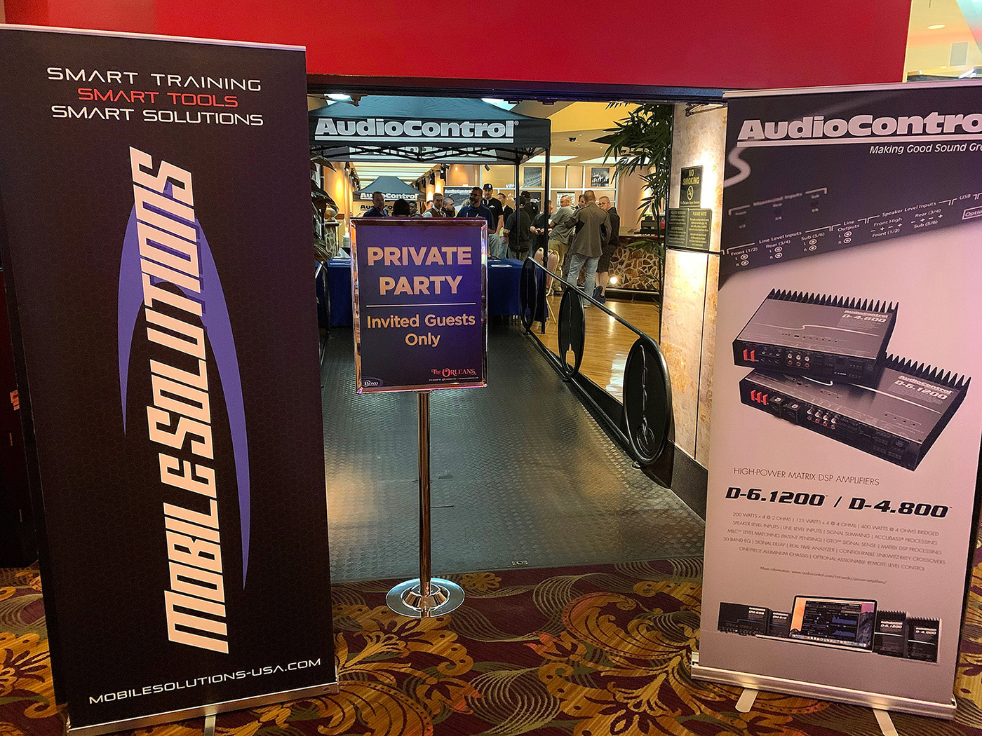 AudioControl Mobile Solutions SEMA 2019 PASMAG event