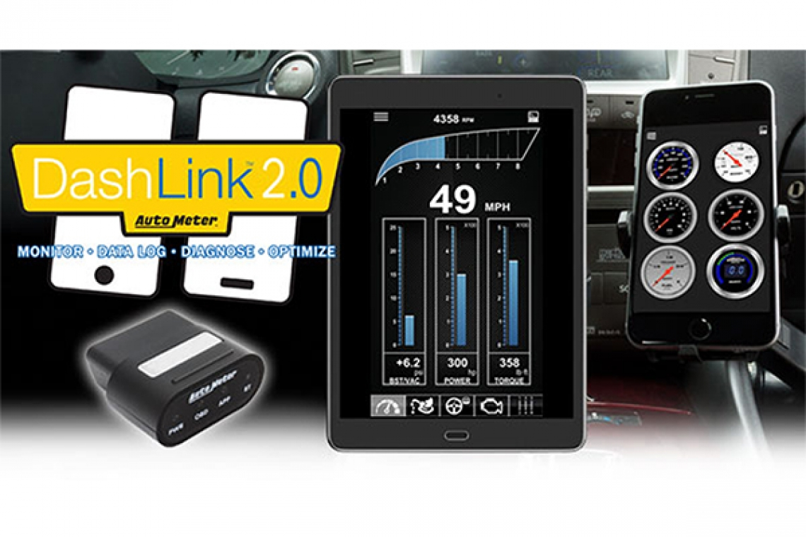 Display AutoMeter Gauges on Your Mobile Device With DashLink II