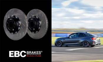 EBC Brakes Racing Introduces Two-Piece Fully-Floating Rotor for BMW M2/M3/M4 (F8x)