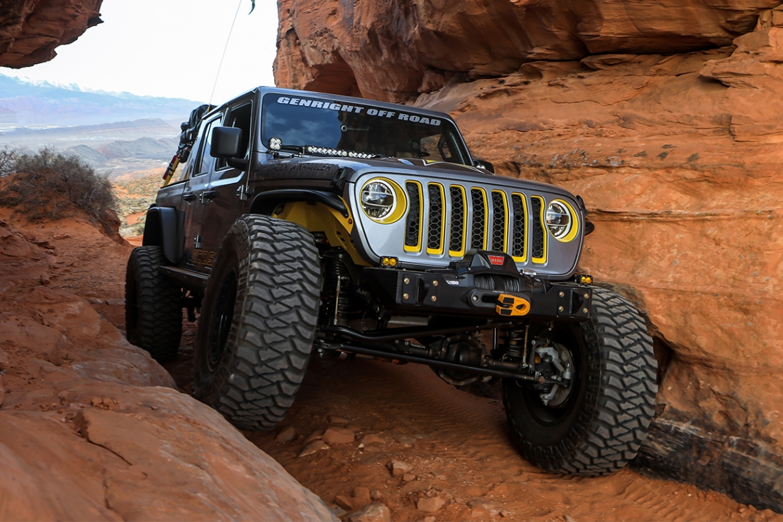 "SCOSCHE® Industries Congratulates Their Partner, Nic Ashby of Rockstar Performance Garage On Being Named ""SuperJeep Builder Of The Year"""