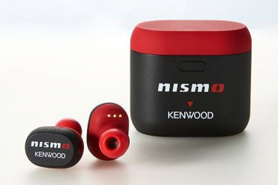 Nismo x Kenwood Collaborate on KH-CRZ50T Wireless Headphones