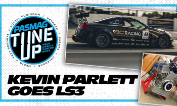 Kevin Parlett #44 BC Racing Infiniti G35 Dumps The Turbo VQs For This!