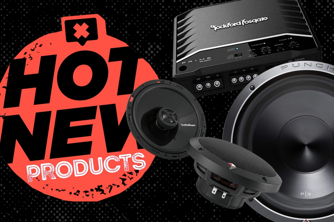 PASMAG Unboxing: Rockford Fosgate Power T1650 Speakers, Punch P3D2-12 R2 Subwoofer and Amplifier