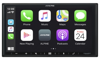 Alpine 7-Inch Shallow-Chassis Multimedia Receiver with PowerStack™