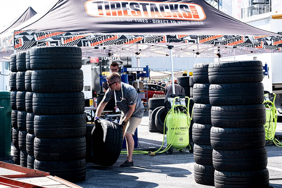 TireStacks Joins Formula DRIFT As Official Tire Service Partner For PROSPEC Championship