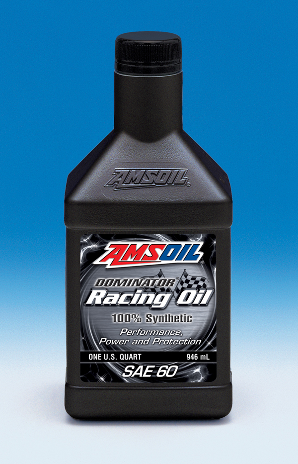 AMSOIL Expands Dominator Line with SAE 60 Racing Oil