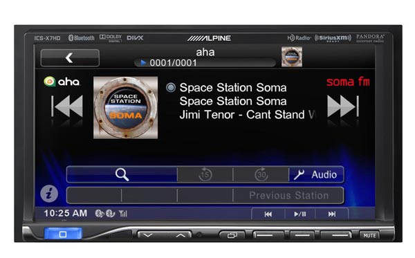 Alpine Electronics Now Shipping ICS-X7HD In-Dash App Receiver