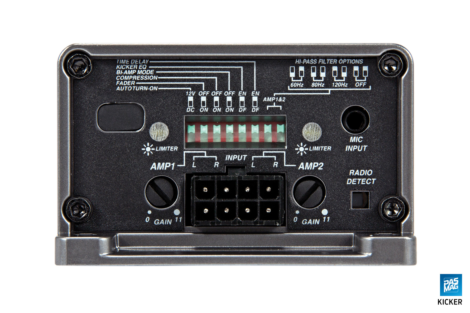 Kicker KEY180.4 Amplifier