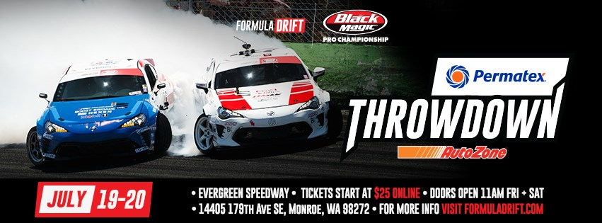 Formula DRIFT 2019 Round 5 Throwdown FDSEA Monroe Washington Flyer
