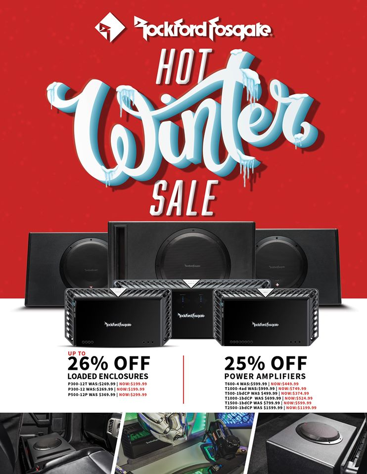 rockford fosgate black friday 2019