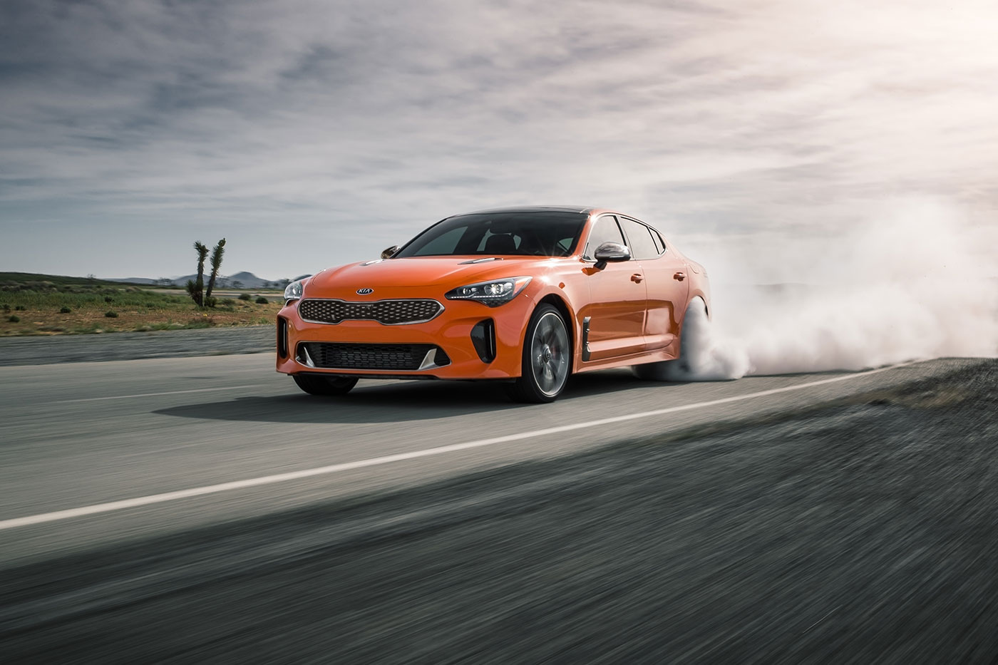 2021 kia stinger gt neon orange pasmag 06