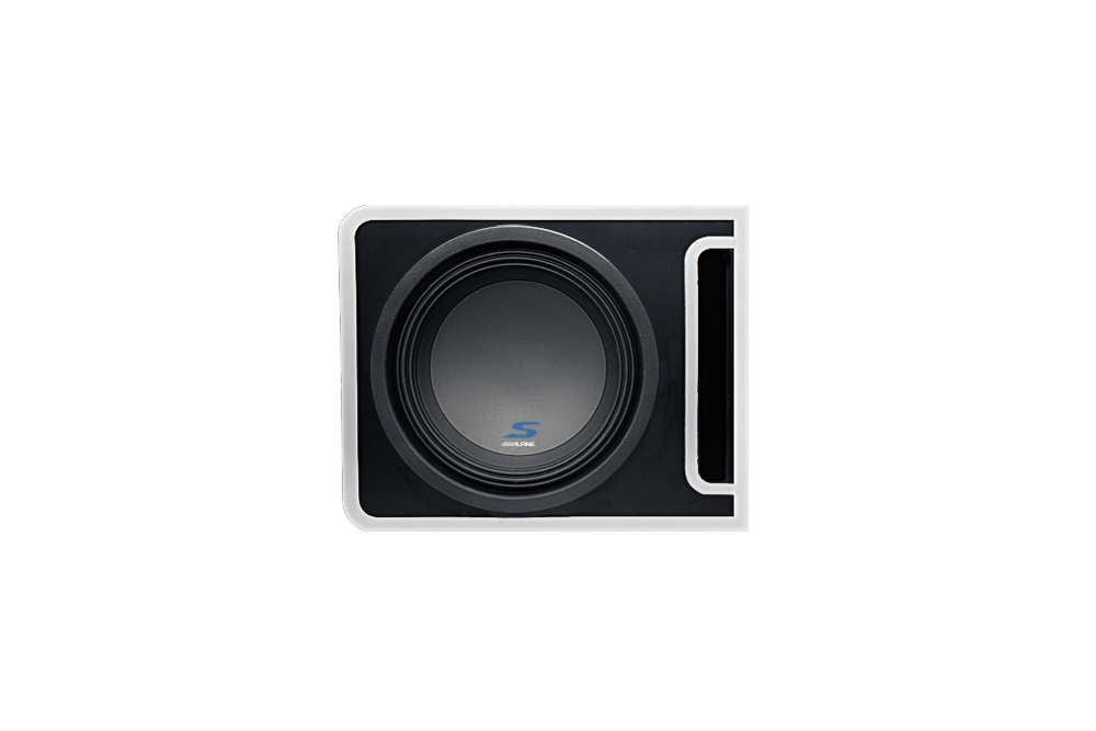 Alpine Electronics Halo Pre Loaded Subwoofer Enclosure CES 2020 pasmag 02