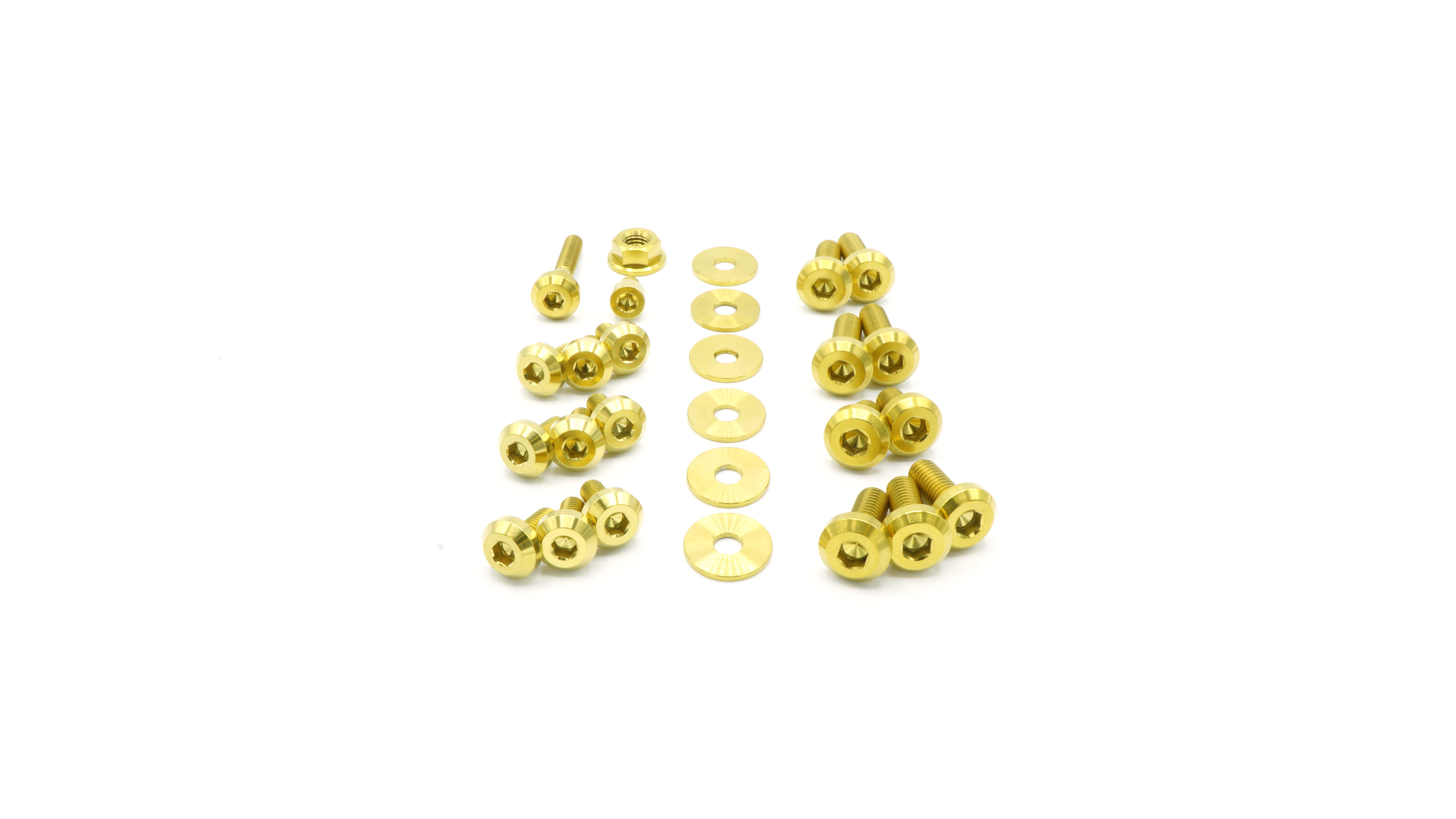 dress up bolts pasmag 2008 2021 subaru ej257 hardware engine kit SUB 016 Ti GLD