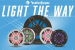 Rockford Fosgate® Introduces Next Generation of Marine Speakers And Subwoofers featuring Color Optix™ RGB LED Lighting