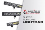 Heise LED Lighting Systems® Introduces the Super Slimline Lightbar Series at CES