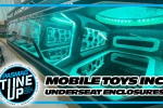 Mobile Toys Inc Tron Inspired Truck Underseat Enclosure