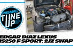 Edgar Diaz Swaps A Perfectly Fine Motor Out Of His Lexus IS250 F Sport