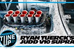 There is Going to be a JUDD V10 in Ryan Tuerck's Supra!