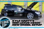 Kyle Harty's Rare and Custom Wheel Setup for the 1999 Lexus GS400