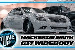 Mackenzie Smith's Infiniti G37 Goes Widebody with 3-Piece Wheels