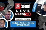 PASMAG Tuning 365: SEMA360 Booth Tour - AEM Induction Systems