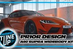 Prior Design A90 Supra Widebody Kit Concept