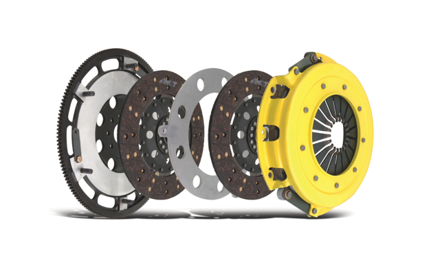 ACT's new clutch kit for the 2010 Chevrolet Camaro SS equipped with 6.2L LS3 V8 engine features a HD Pressure Plate that incorporates hardened diaphragm fingers for decreased wear and provides a 52% increase in clamp force over the stock unit.