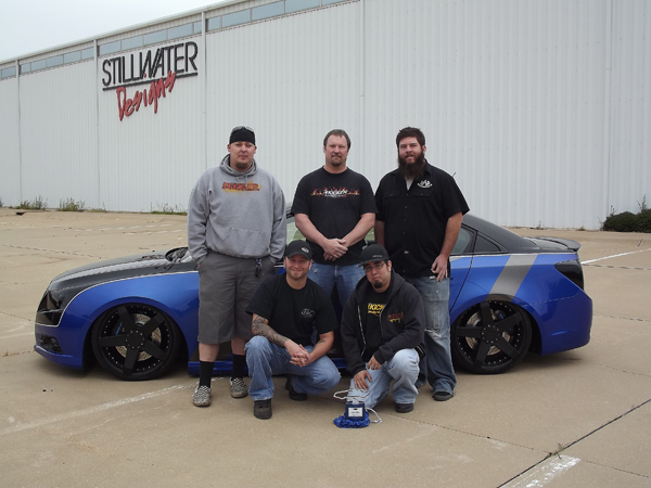 KICKER® Install Team Honored with GM® Design Award for 2012 Cruze™ at SEMA Show