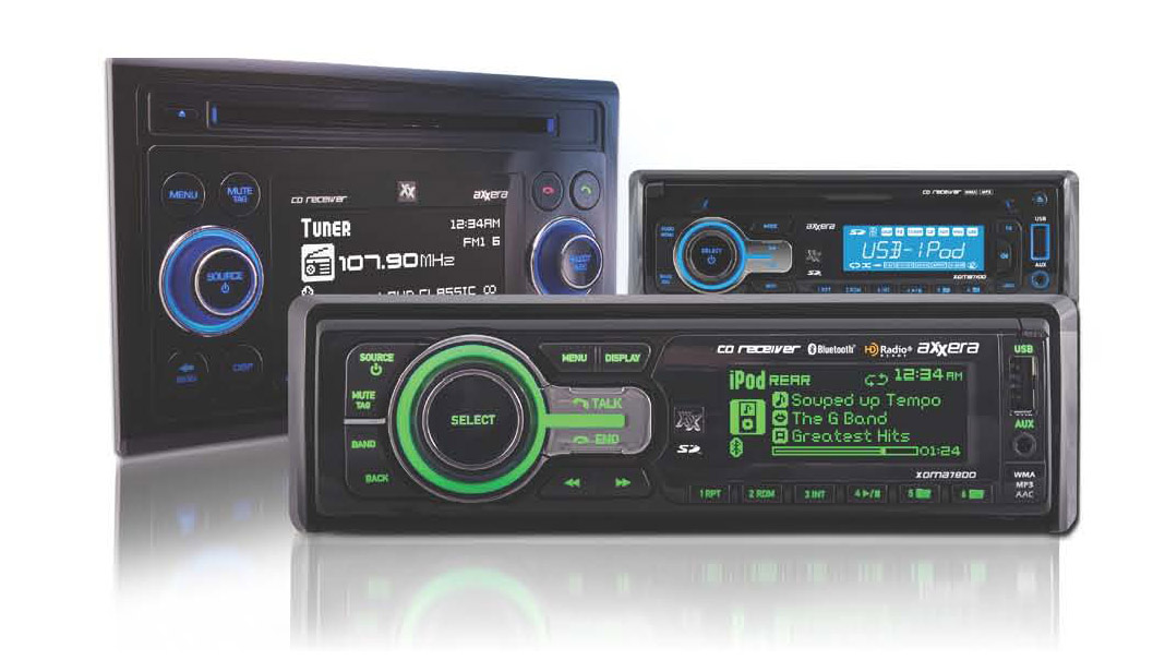 Dual Electronics Ships its Axxera Line of Car Audio Products for 12V Specialists