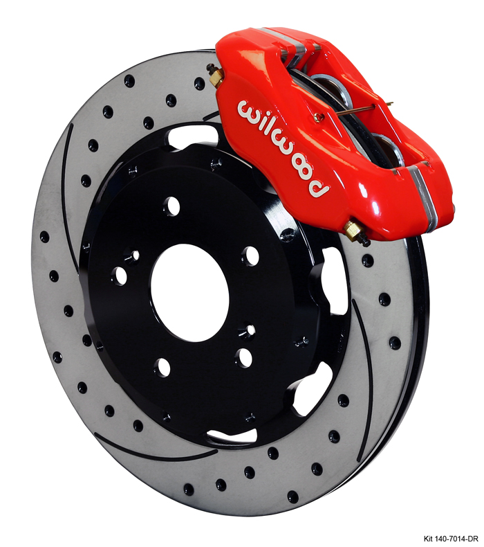 Wilwood's New Bolt-On High Performance Big Brake Kit for Acura RSX